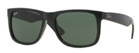 Ray-Ban Justin Classic Green Mens Sunglasses -  RB416555-X