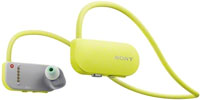 Sony 16GB Yellow Wearable Music Player With Fitness Tracker