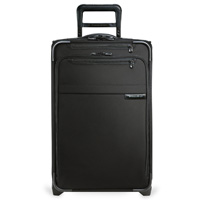 Briggs & Riley Black Domestic Carry-On Expandable Upright