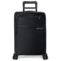 Briggs & Riley Black Domestic Carry-On Expandable Spinner