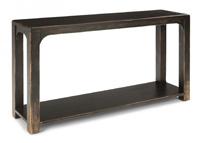 Flexsteel Homestead Subtle Black Sofa Table