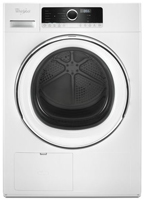 Whirlpool 4.3 cu.ft Compact Ventless Heat Pump Electric Dryer with Wrinkle Shield Option