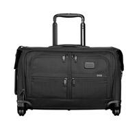 Tumi Alpha Black Carry-On 4 Wheeled Garment Bag
