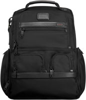Tumi Black Alpha 2 Collection Compact Laptop Brief Pack