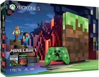 Microsoft Xbox One S 1TB Minecraft Limited Edition Bundle
