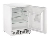 "U-Line 21"" White Undercounter Refrigerator"