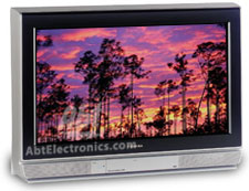 Toshiba 30  TheaterWide HD FST PURE Flat TV - Silver/Black Finish