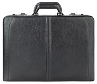 "Solo Classic Collection 16"" Leather Attache Case"