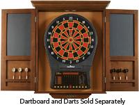 Delicieux Brunswick Chestnut Dartboard Cabinet