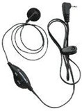 Motorola EarBud With PTT Microphone - 53727