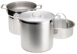All-Clad 12 Quart Multi Cooker With Steamer Basket - 59912