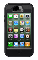 OtterBox Defender Series Black iPhone 4/4S Case - 7718581