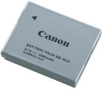 Canon NB-6LH Lithium-Ion Battery