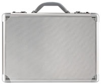 "Solo Pro Collection Titanium 17.3"" Attache Case"