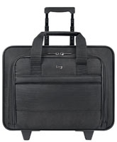 "Solo Classic Collection Black 15.6"" Rolling Case"