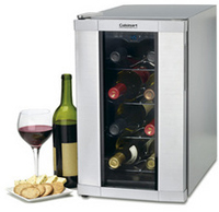 Cuisinart 8-Bottle Private Reserve Wine Cellar In Stainless Steel - CWC-800