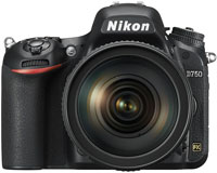 Nikon D750 24.3 Megapixel Digital SLR Camera With 24-120mm VR Lens Kit