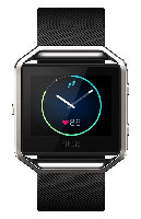 Fitbit Blaze Small Black And Silver Fitness Watch