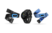 Garmin Forerunner 735XT Black & Gray Running Watch Tri Bundle