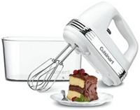 Cuisinart Power Advantage White Hand Mixer