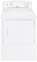 GE Hotpoint 6.0 Cu Ft Capacity White Front Loading Gas Dryer