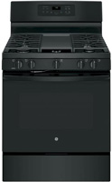 "GE 30"""" Free Standing Black Gas Convection Range -  JGB700DEJBB"