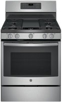 "GE 30"""" Free Standing Stainless Steel Gas Convection Range -  JGB700SEJSS"