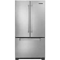 kitchenaid stainless freezer refrigerator - kfcp22exmp