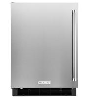 """KitchenAid 24"""" Stainless Steel Undercounter Refrigerator"""
