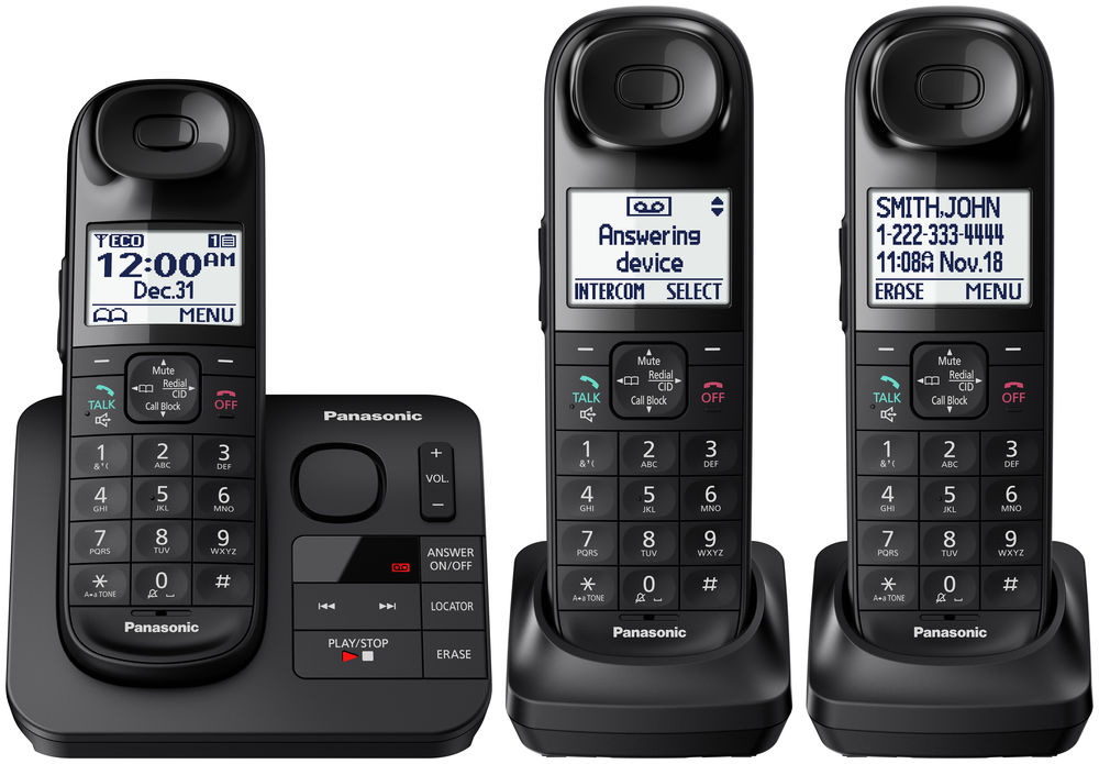 Panasonic Expandable Digital Cordless Phone KX TGL433B