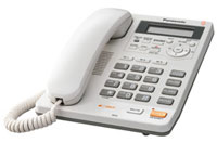 Panasonic Integrated White Telephone System With All-Digital Answering System - KX-TS620W