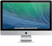 "Apple 21.5"" iMac 2.7GHz Intel Quad-Core i5 Desktop Computer With VESA Mount"
