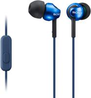 Sony Blue Step-Up EX Series Headphones