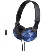 Sony Blue Sound Monitoring Headphones