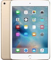 Apple iPad Mini 4 Gold 128GB Wi-Fi + Cellular
