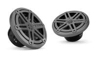 """JL Audio M Series 6.5"""" Coaxial Titanium Marine Speakers"""