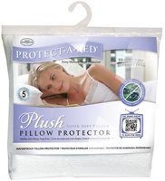 Protect-A-Bed Standard Size Plush Pillow Protector