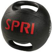 SPRI PBDG-8R 8 lb. Dual Grip Xerballs - Packaged