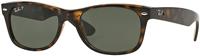 Ray-Ban New Wayfarer Polarized Tortoise Unisex Sunglasses
