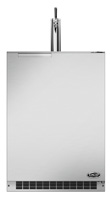 "Fisher & Paykel 24"" Stainless Steel Single Tap Outdoor Beer Dispenser"