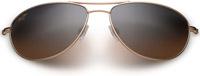 Maui Jim Baby Beach Aviator Gold Womens Sunglasses