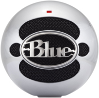 Blue Microphones Snowball Brushed Aluminum USB Microphone