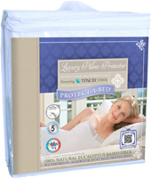 Protect-A-Bed Queen Waterproof Pillow Protectors
