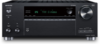 Onkyo 9.2-Channel Black Network AV Receiver -  TX-RZ730