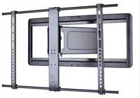 Sanus Super Slim Full-Motion Black Flat-Panel TV Mount