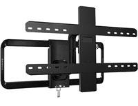Sanus Black Full-Motion Flat Panel TV Mount