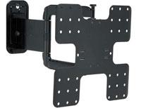 """Sanus 32"""" - 50"""" Super Slim Full-Motion Black Wall TV Mount"""
