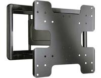 Sanus Super Slim Full-Motion Black TV Mount