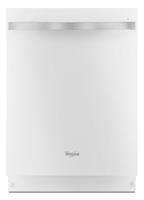 "Whirlpool Gold 24"" Built-In Dishwasher with Stainless Steel Tub White Ice WDT920SADH"