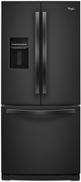 "Vortex 30"" Black French Door Refrigerator - WRF560SEYB"